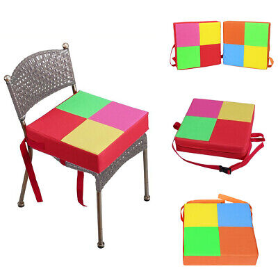 Fashion Baby Kid Booster Seat For Dining Portable Thick Chair Increasing Cushion