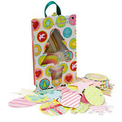 Dovecraft Christmas Fancy Glittered Chipboard Shapes Pack of 36