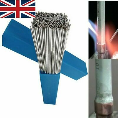 10/20/30/50x 50cm Aluminium Welding Brazing Rods Wire Low Temperature Weld Tool