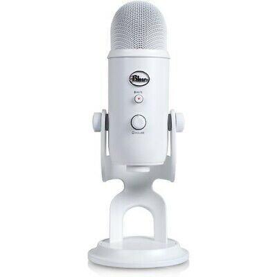 NEW Blue Microphones YetiWhiteout Yeti USB Microphone Whiteout Mcrphn Four
