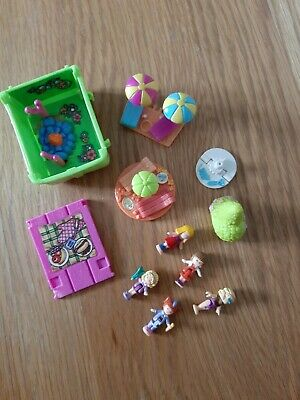 Polly Pocket assortment of items and figures