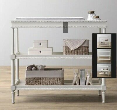 Restoration Hardware Airin Spindle Changing Table