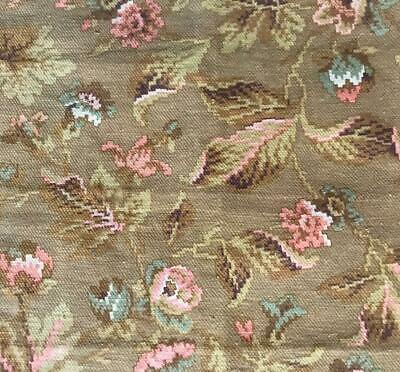 BEAUTIFUL SMALL PIECE MID 19th CENTURY FRENCH LINEN COTTON 479