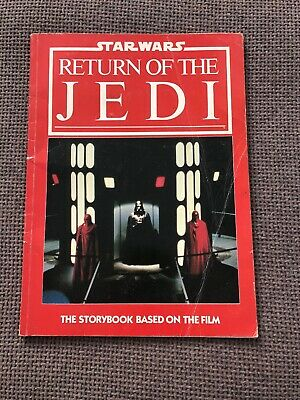 Return Of The Jedi Story Book From 1983. Star Wars Paperback ROTJ