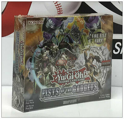 Yu-Gi-Oh! TCG: Fists of the Gadgets English 1st. Edition Booster Box
