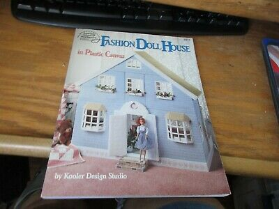 Fashion Doll House in Plastic Canvas Pattern Book. American School of Needlework