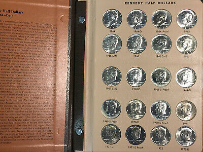 Kennedy Half Dollar Set Complete 1964-2015 Unc. 199 Coins w/ Silver Proof DANSCO