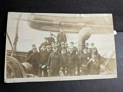 may be USS BRIDGEPORT AD-10 Naval Cover 1918 Censored WWI Postcard NY