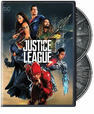 Justice League (DVD, 2- Disc Set, 2018 DC Franchise) New & Sealed FREE Shipping