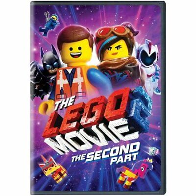 The Lego Movie: The Second Part (DVD, 2019) New & Sealed FREE Shipping