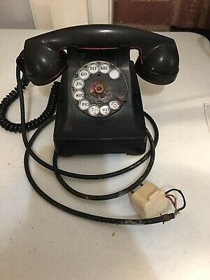 Antique Western Electric  Model 302 ? Rotary Telephone Vintage Untested