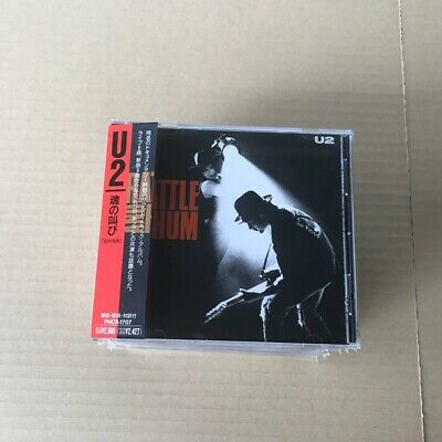 U2 ‎– Rattle And Hum CD JAPAN PRESS OBI