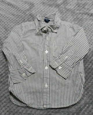 Baby Boys Shirt Long Sleeves Baby Gap Size 2T
