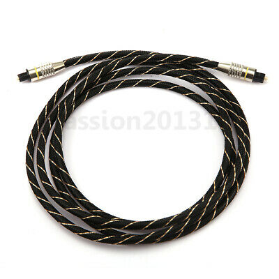 New Digital Optical Audio Cable Fiber Optic Cable OD6.0 Toslink Cable Cord