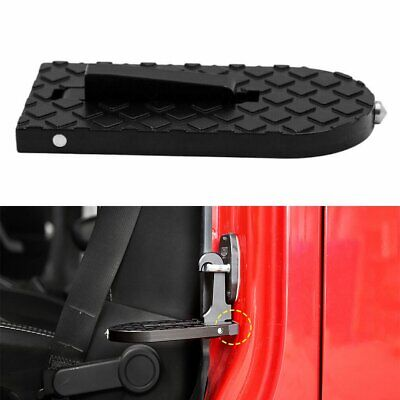 Folding Step Foot Latch Hook Portable Car Door Pedal Ladder for Jeep SUV Truck