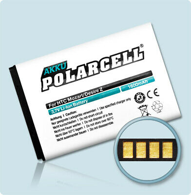 PolarCell Batterie pour HTC Desire S S510e Z A7272 Incredible S710e