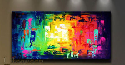 ZOPT504 large abstract wall decor 100/% hand painted oil painting art canvas