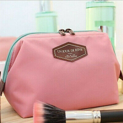 Beauty Makeup Pouch Purse Cosmetic Case Box  Travel Toiletry Case Organizer