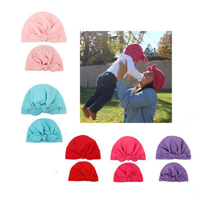 Charming Mother Baby Child Toddler Kid Knit Hat Beanie Warm Cap BM