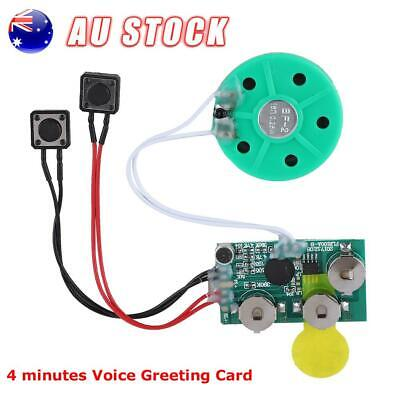 DIY Talking Button Sound Voice Music Recordable Module Chip for Greeting Card AU