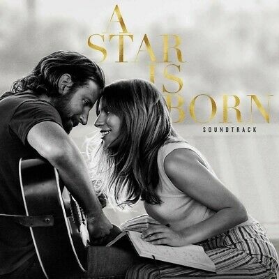 A Star is Born Soundtack By Lady Gaga and Bradley Cooper CD 2018 new sealed