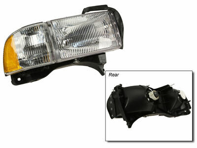 For 1994-2002 Dodge Ram 3500 Headlight Assembly Right 37734WD 2000 1999 2001