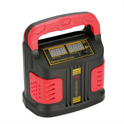 15A360W  Auto Car Smart Battery Charger 12V/24V Vehicle Jump Starter Fast Safety