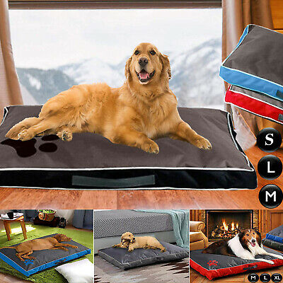 Dog Bed Mattress Waterproof Cushion Double Sided Puppy Cat Pet Pillow Warm Mat