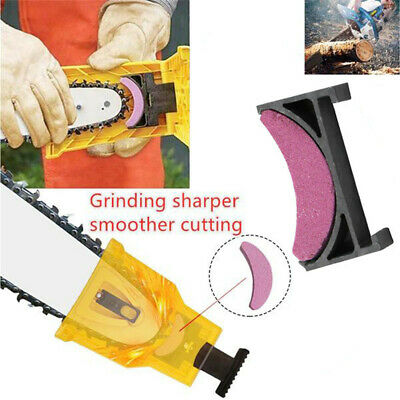 Sharpener Stone Chainsaw Teeth Sharpening Chain Saw Garden ToolGrinding Kit