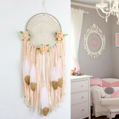 Large Handmade Boho Dream Catcher Gift Nursery Home Wall Hanging DreamCatcher