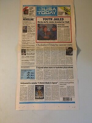 Back to the Future USA Today Hill Valley Edition October 22, 2015 Newspaper