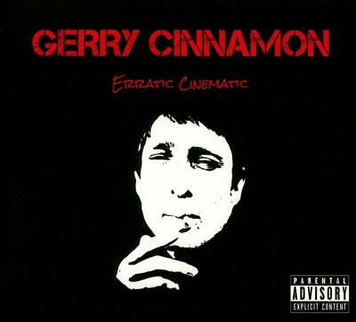 "GERRY CINNAMON ERRATIC CINEMATIC CD (Released January 18th 2019) incl: ""BELTER"""