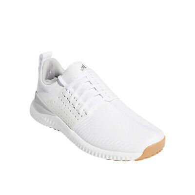 Adidas Adicross Bounce Spikeless Golf Shoes White/Gray - Choose Size & Width