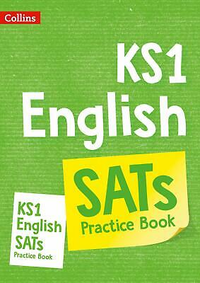 KS1 English SATs Practice Workbook by Collins KS1 Paperback NEW Book