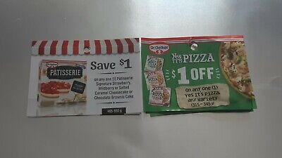 Mixed dr. Oetker coupon lot