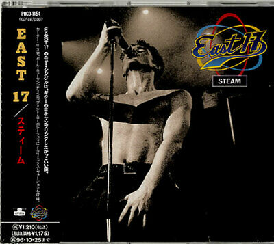 "East 17 CD single (CD5 / 5"") Steam Japanese promo POCD1154 LONDON 1994"