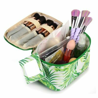 Women Travel Cosmetic Makeup Bag Case Pouch Toiletry Zip Wash Organizer Storage