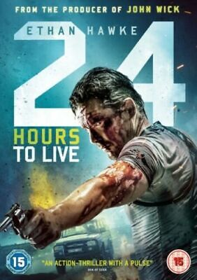 24 Hours to Live (DVD, 2017) *NEW/SEALED* 5055761911749, FREE P&P