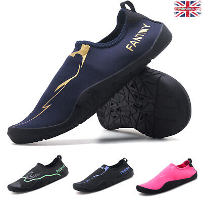 Wetsuit Water Aqua Shoes Swimming Surf Diving Barefoot Mens Womens Slip On Sock