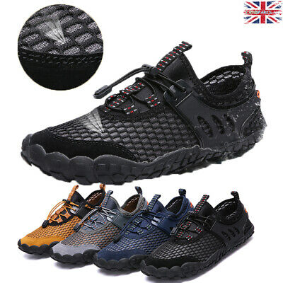 Mens Boy Hiking Outdoor Wet Aqua Shoes Water Sports Beach Swim Wetsuit Surf UK11