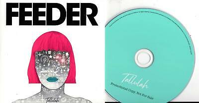 Feeder 2019 PROMO CD ALBUM Tallulah CARD SLEEVE
