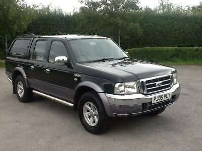Ford Ranger 2.5TDdi Crewcab 4x4 Pickup XLT Double Cab REAR CANOPY EXCELLENT COND