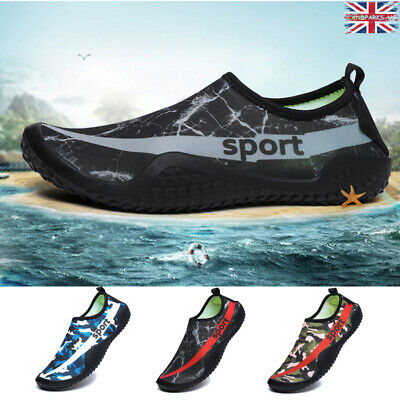 Aqua Beach Sea Surf Water Wet Shoes Mens Wetsuit Boots Skin Swimming Diving UK12