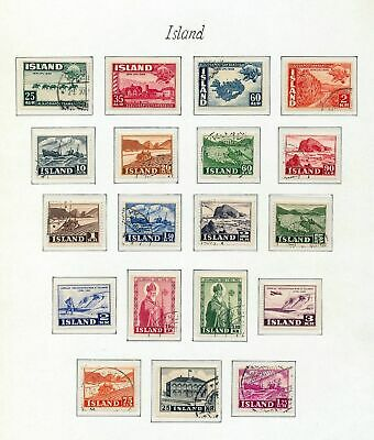 ICELAND 1949/54 MNH Used UPU Air.Cat 80+Pounds (As 819