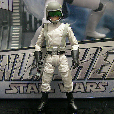 """STAR WARS the Black Series IMPERIAL AT-ST DRIVER 3.75"""" rotj walmart exclusive"""