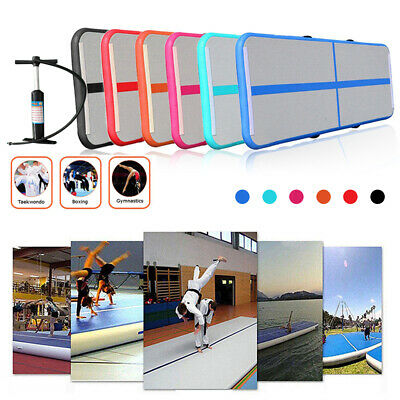 3M Airtrack Inflatable Air Track Floor Home Gymnastics Mat Exercise Tumbling GYM