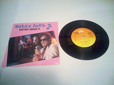 Billy Joel tell her about it 7inch  Vinyl single very good condition