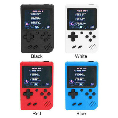 Retro Mini Handheld Video Game Console Gameboy Built-in 400 Classic Games MA