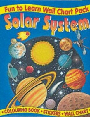 Solar System Wall Chart Pack (Fun to Learn Wall Chart) Poster Book The Cheap
