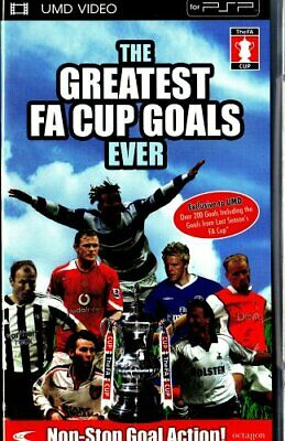 The Greatest FA Cup Goals Ever [UMD Mini for PSP] - DVD  WMVG The Cheap Fast